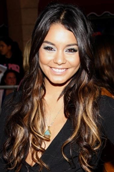 Vanessa hudgens Long Hairstyle
