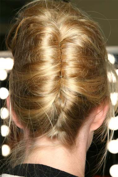 Trendy Easy Make Chignon Hairstyle