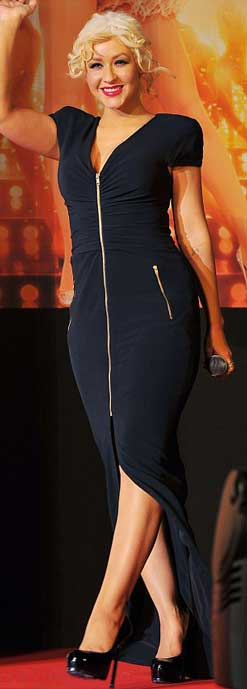 Christina Aguilera Shows Off Slim Figure at Billboard Awards