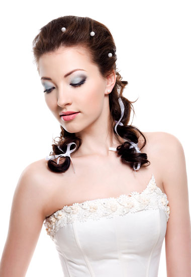 Latest 2012 curly half updo hairstyles