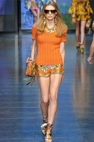 D&G Spring/Summer 2012 RTW Collection