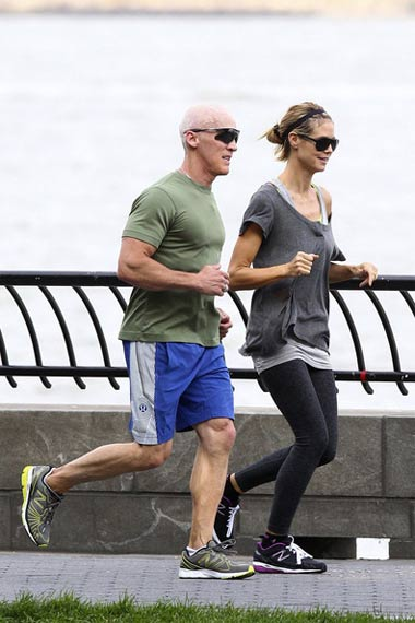david-Kirsch-jogging-with-Heidi-Klum