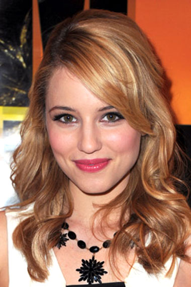 Dianna Agron hairstyle