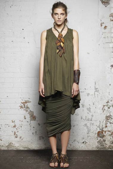 Donna Karan Spring 2012 Collection