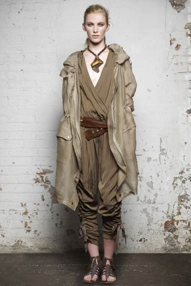 Donna Karan Spring 2012 Dress Collection