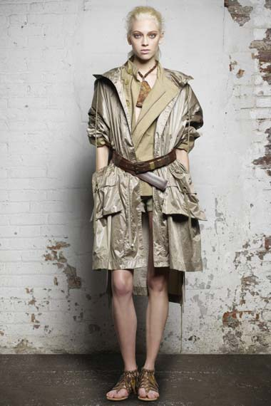 Donna Karan Spring 2012 Casual Luxe Collection