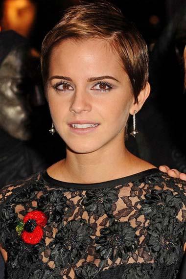 Emma Watson Pixie Hairstyle