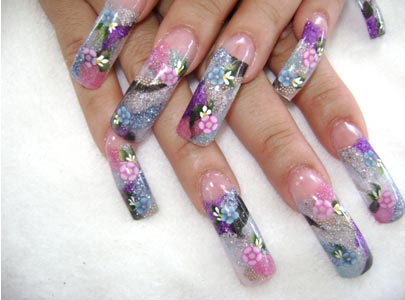 enjoy decorating nails