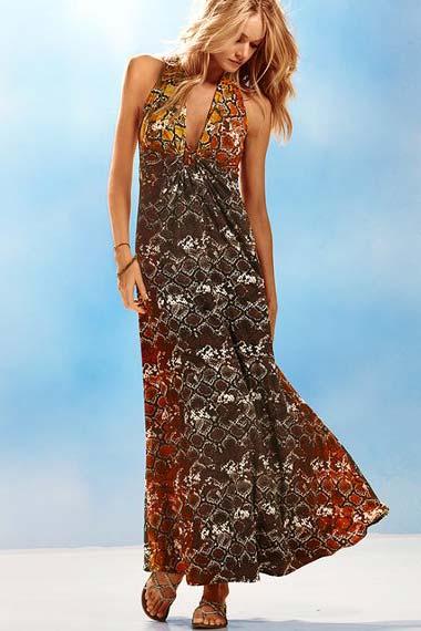 Exotic Maxi Dress