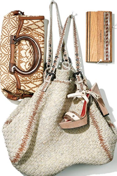 spring 2012 shoes and bags  trends