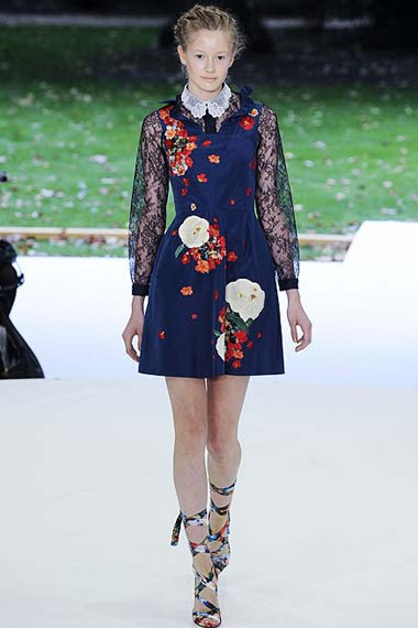 Trendy Floral Prints for Spring/Summer 2012
