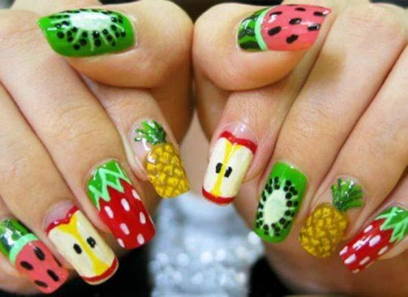 fruit-nail-art