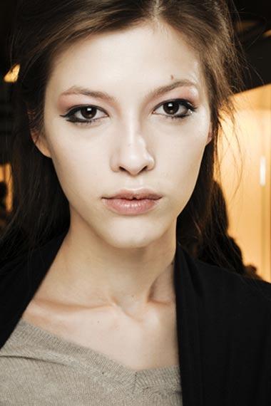 Giorgio Armani Runway Makeup 2012