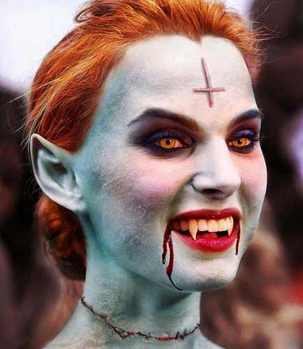Halloween Horror Makeup Looks and Ideas 1