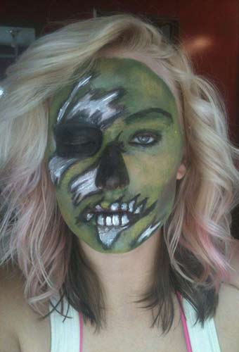 Halloween Horror Makeup Looks and Ideas 10