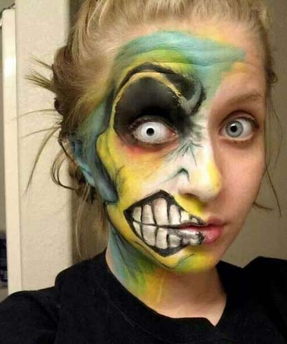 Halloween Horror Makeup Looks and Ideas 11