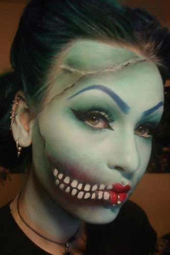 Halloween Horror Makeup Looks and Ideas 13