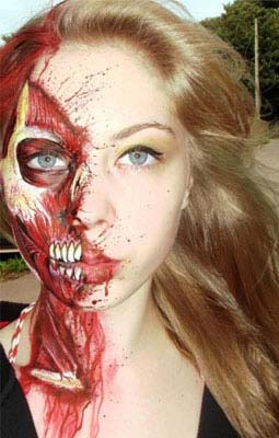 Halloween Horror Makeup Looks and Ideas 20