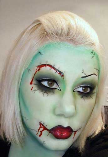 Halloween Horror Makeup Looks and Ideas 21