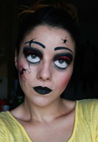 Halloween Horror Makeup Looks and Ideas 22