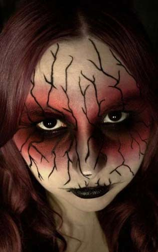 Halloween Horror Makeup Looks and Ideas 24
