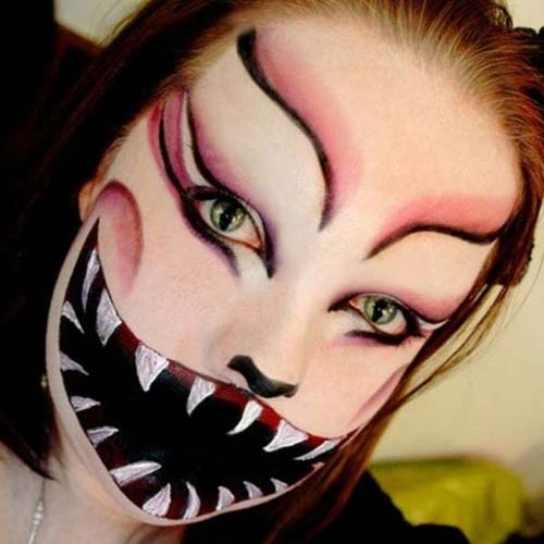 Halloween Horror Makeup Looks and Ideas 25