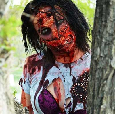 Halloween Horror Makeup Looks and Ideas 3