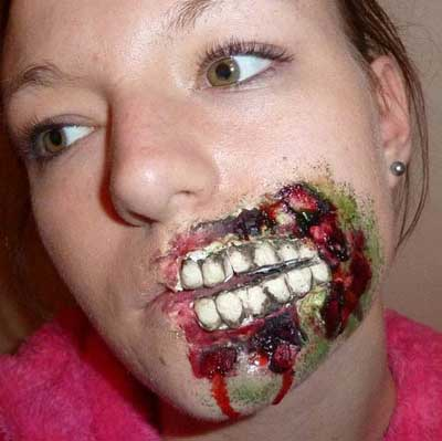 Halloween Horror Makeup Looks and Ideas 4