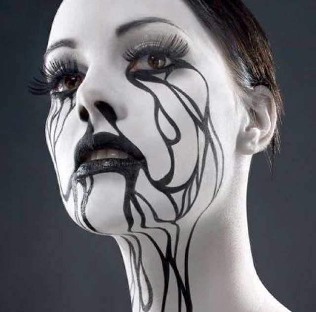 Halloween Horror Makeup Looks and Ideas 6