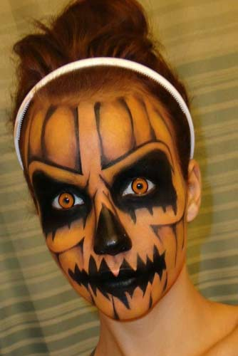 Halloween Horror Makeup Looks and Ideas 7