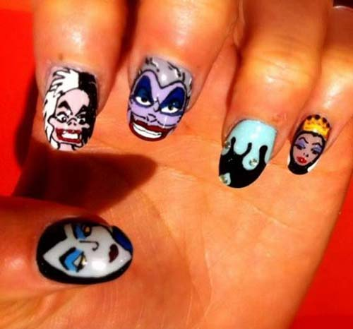 Best and Scary Halloween Nail Art Collection 2