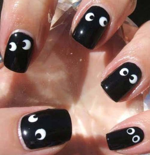 Best and Scary Halloween Nail Art Collection 3