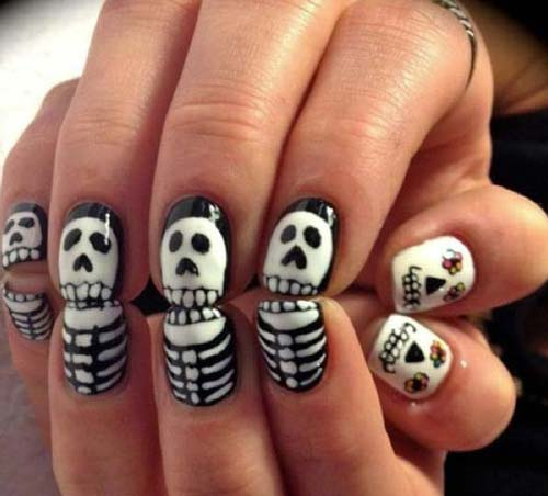 Best and Scary Halloween Nail Art Collection 5