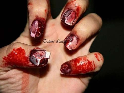 Best and Scary Halloween Nail Art Collection 6