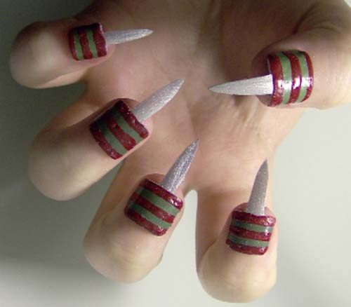 Best and Scary Halloween Nail Art Collection 8
