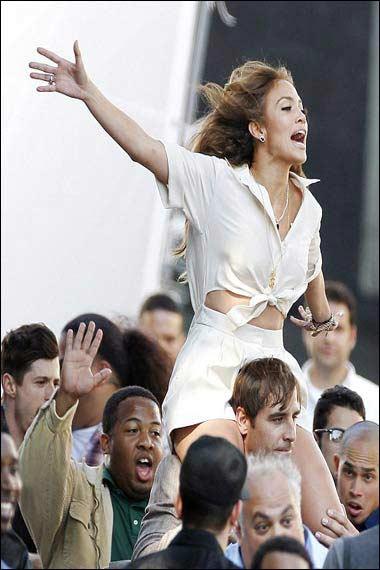 Jennifer Lopez Papi video
