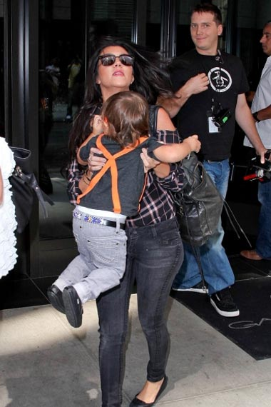 Kourtney Kardashian & Son Mason