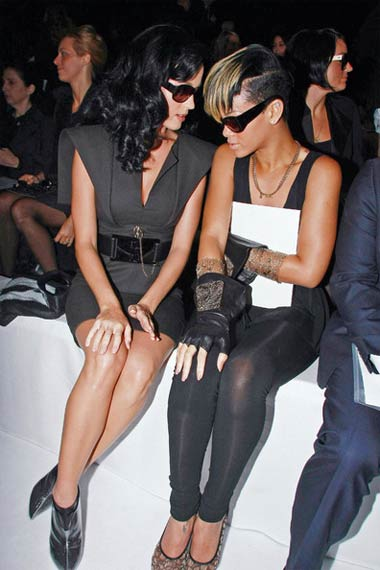 Katy Perry and Rihanna