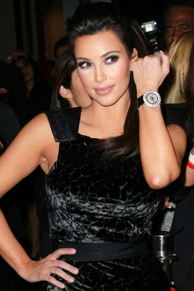 Kim Kardashian Humphries watch
