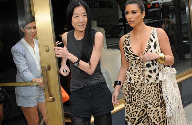 Kim & Vera Wang