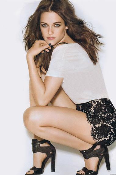 Kristen Stewart Graces Glamour Magazine's Cover