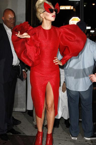 Lady Gaga's Wardrobe Malfunction