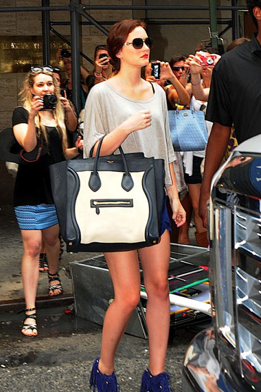 Leighton Meester | Celine Luggage Tote