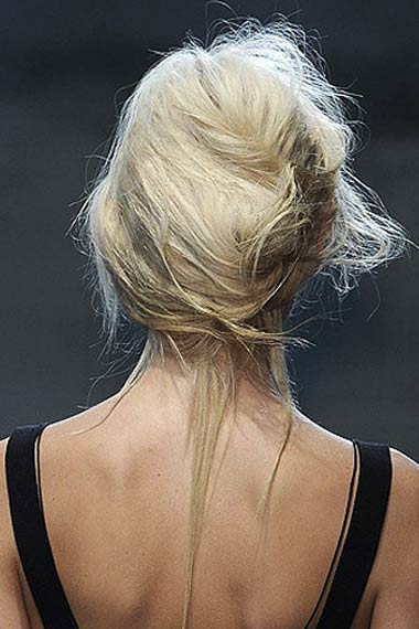 2012 Summer Messy Updo Trends