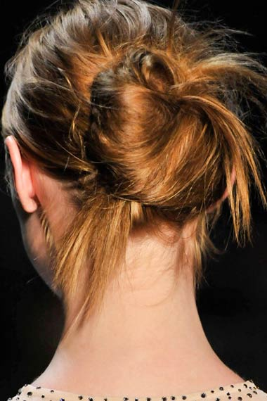 Summer Messy Updo Trends