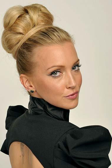 Modern Updo Hairstyles 2012