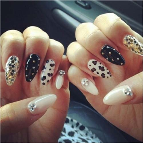 Fantabulous Pointed Nail Art 3