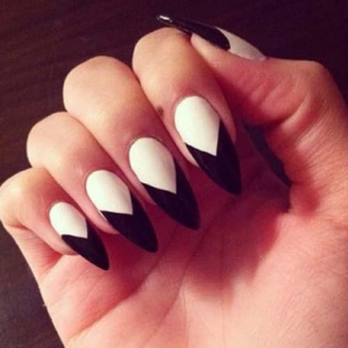 black tip nails tumblr - photo #20