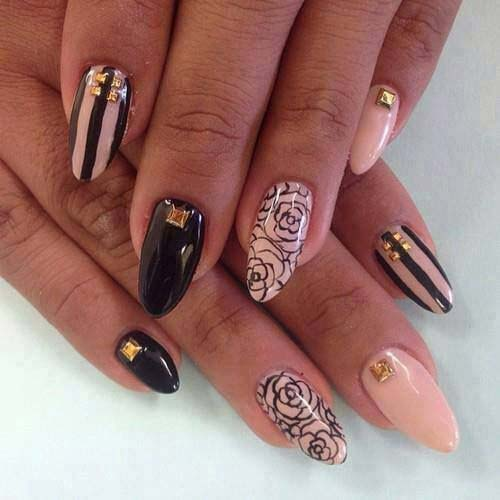 Fantabulous Pointed Nail Art 9