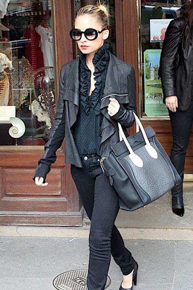 Nicole Richie | Celine Luggage Tote 2011